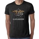 U.S. Navy Seal Shirt Devgru Mens Burnout Tee T-Shirt