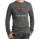 U.S. Navy Seal Shirt Devgru Mens Long Sleeve Thermal Tee T-Shirt