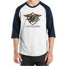 U.S. Navy Seal Shirt Devgru Mens Raglan Tee T-Shirt