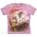 Unicorn Rainbow Shirt Tie Dye Adult T-Shirt Tee