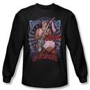 Up In Smoke Shirt Pantyhose Long Sleeve Black Tee T-Shirt