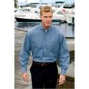 Port & Company Dress Shirt Long Sleeve Value Denim