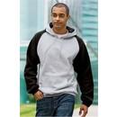 Sport Tek Hoodie Sweatshirt Colorblock Fleece Pullover Hoody