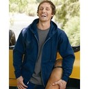 Hanes Full Zip Hoodie Sweatshirt EcoSmart Hooded Sweat Shirt