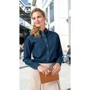 Port & Company Ladies Denim Shirt Long Sleeve Value Blouse