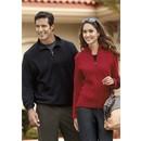 Port Authority Sweatshirt Rib 1/4 Zip Fleece Pullover Sweat Shirt