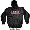 USA 3D Tie Dye Hoodie