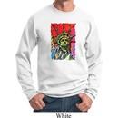 USA Sweatshirt Statue of Liberty Painting Sweat Shirt