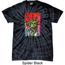 USA Tee Statue of Liberty Painting Spider Tie Dye Shirt
