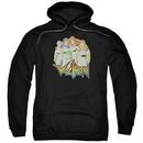 Voltron Hoodie Group Black Sweatshirt Hoody
