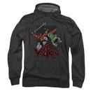 Voltron Hoodie Sweatshirt Roar Charcoal Adult Hoody Sweat Shirt