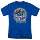 Voltron Shirt Let's Form Adult Royal Blue Tee T-Shirt
