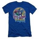 Voltron Shirt Slim Fit Let's Form Royal Blue Tee T-Shirt