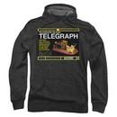 Warehouse 13 Hoodie Sweatshirt Telegraph Island Charcoal Adult Hoody