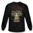 Warehouse 13 Shirt Mystery Loves Long Sleeve Black Tee T-Shirt