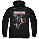 WarGames  Hoodie Movie Poster Black Sweatshirt Hoody