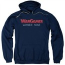 WarGames  Hoodie Winner None Navy Blue Sweatshirt Hoody
