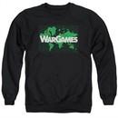 WarGames  Sweatshirt Game Board Adult Black Sweat Shirt