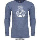 White Penguin Power Bike Long Sleeve Thermal Shirt