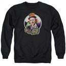 Willy Wonka and The Chocolate Factory  Sweatshirt Its Scrumdiddlyumptious Adult Black Sweat Shirt