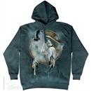 Wolf Dream Catcher Hoodie Tie Dye Adult Hooded Sweat Shirt Hoody