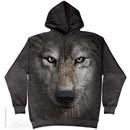 Wolf Face Hoodie Tie Dye Adult Hooded Sweat Shirt Hoody