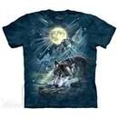 Wolfs Symphony Shirt Tie Dye Adult T-Shirt Tee