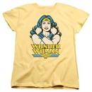 Wonder Woman Womens Shirt At Large Banana T-Shirt