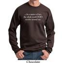 World Revolves Around Me Sweatshirt