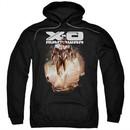 X-O Manowar Hoodie Lightning Sword Black Sweatshirt Hoody