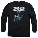 X-O Manowar Long Sleeve Shirt By The Sword Black Tee T-Shirt