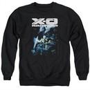 X-O Manowar Sweatshirt By The Sword Adult Black Sweat Shirt