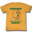 Y U NO Shirt Shampoo Adult Orange Tee T-Shirt