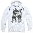 Yeah Yeah Yeahs Hoodie Fangs And Bones White Sweatshirt Hoody