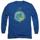 Yes Shirt Fragile Cover Long Sleeve Royal Tee T-Shirt
