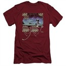 Yes Shirt Slim Fit Yessongs Cardinal T-Shirt