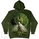 Ying Yang Tree Hoodie Tie Dye Adult Hooded Sweat Shirt Hoody
