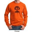 Yoga Black Celtic Tree Sweatshirt