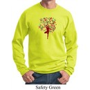 Yoga Foliage Tree Pose Sweatshirt