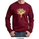 Yoga Gold Foil Tree of Life Sweatshirt