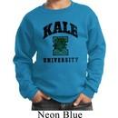 Yoga Kale University Lights Kids Sweatshirt