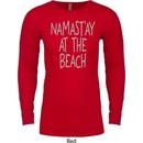 Yoga Namastay at the Beach Long Sleeve Thermal Shirt