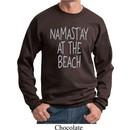 Yoga Namastay at the Beach Sweatshirt