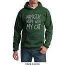 Yoga Namastay Home with My Cat Hoodie