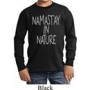 Yoga Namastay in Nature Kids Long Sleeve Shirt