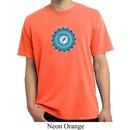 Yoga Shirt Blue Vishuddha Pigment Dyed Tee T-Shirt