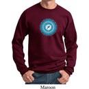 Yoga Sweatshirt Blue Vishuddha Sweat Shirt