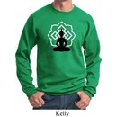 Yoga Sweatshirt Buddha Lotus Pose Sweat Shirt