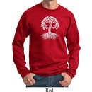 Yoga White Celtic Tree Sweatshirt