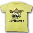 You Mad Shirt U Problemo Spanish Adult Yellow Tee T-Shirt